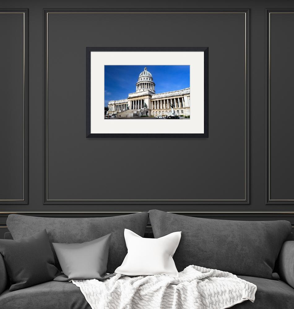 """""""The Capitol Cuba""""  (2012) by JoaoPonces"""