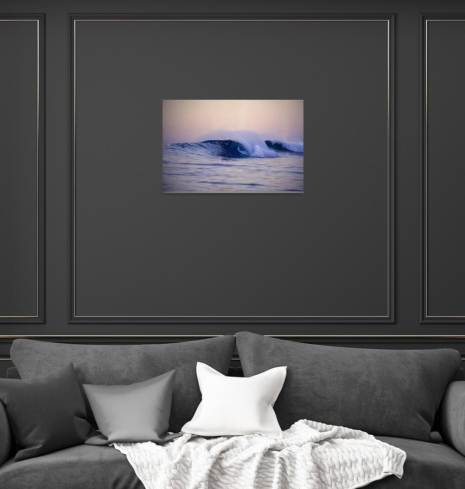 """""""Last wave before dark-wv-001-MarkAJohnson""""  by markjohnson"""