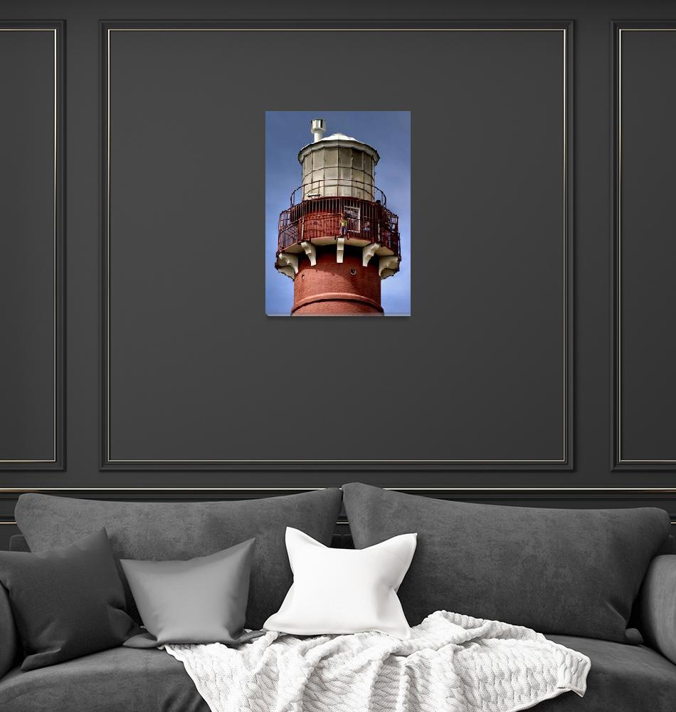 """""""Top of the Barnegat Lighthouse""""  (2008) by New-Yorkled"""