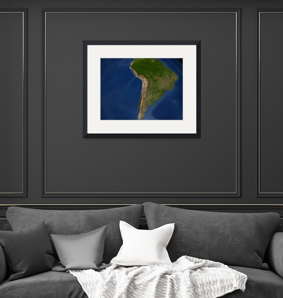 """""""Glaciers in regions of South America.""""  by stocktrekimages"""