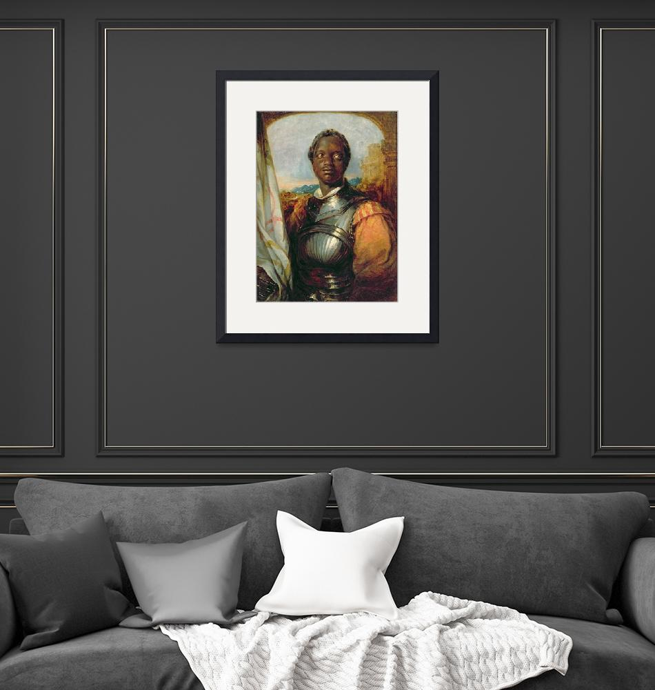 """""""Othello (oil on panel)""""  by fineartmasters"""