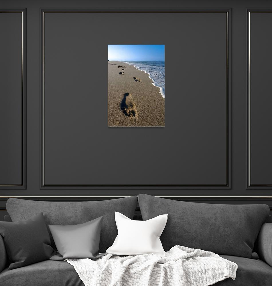 """""""Cape Cod Footsteps""""  (2009) by ChrisSeufert"""