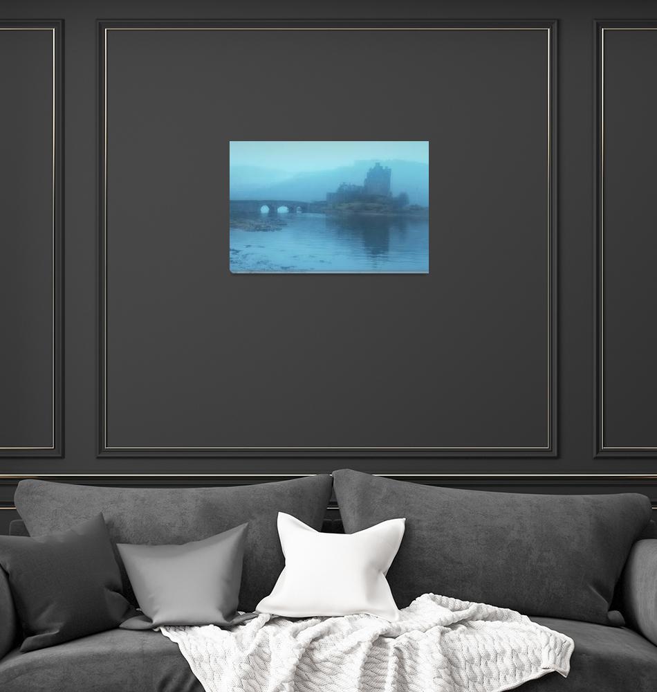 """Fog on Loch Duich""  (2010) by UponInfinity"