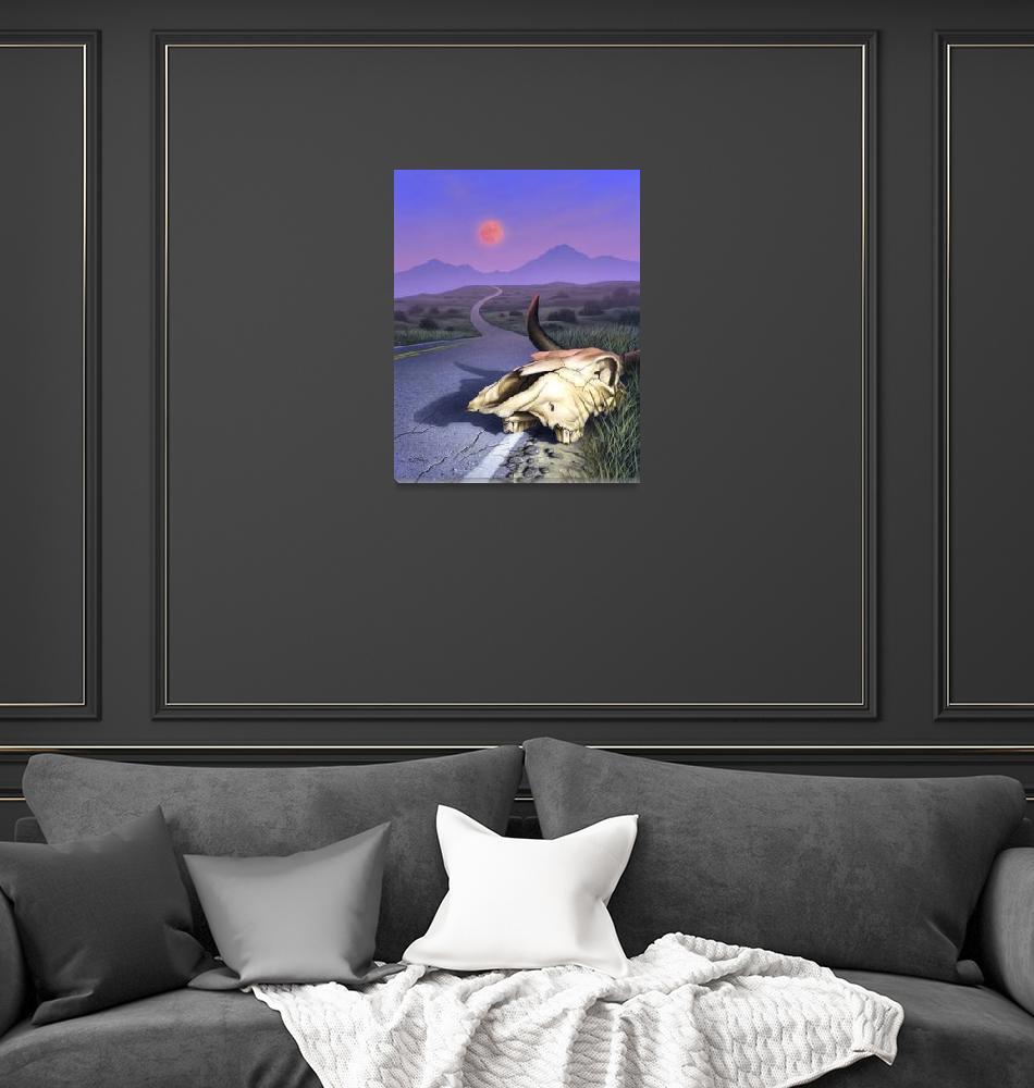 """Red Moon""  (2000) by jerrylofaro59"