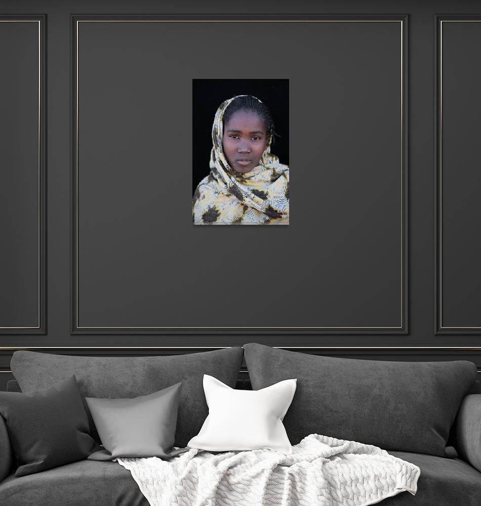 """Mauritanian Girl 6""  (2009) by AndreaMoorePhotography"