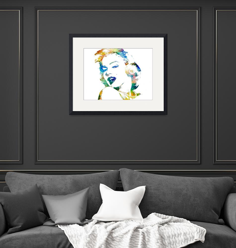 """""""Marilyn Monroe""""  (2012) by mmaher2788"""