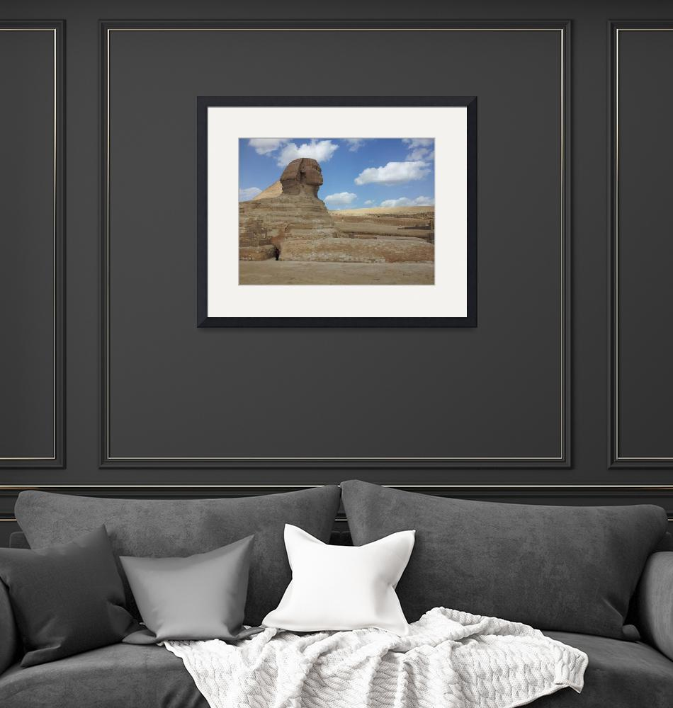 """Ancient Egypt Framed Print""  by buddakats1"