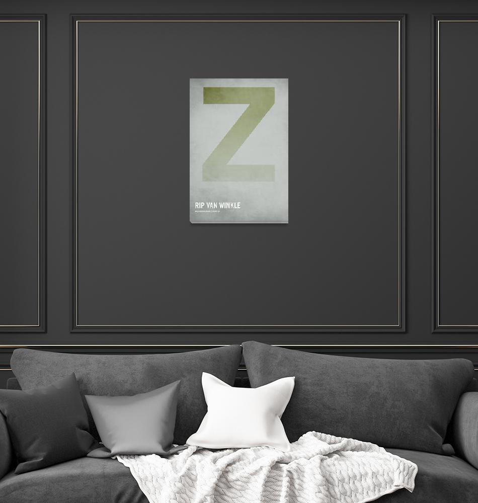 """""""Rip Van Winkle""""  (2010) by squareinchdesign"""