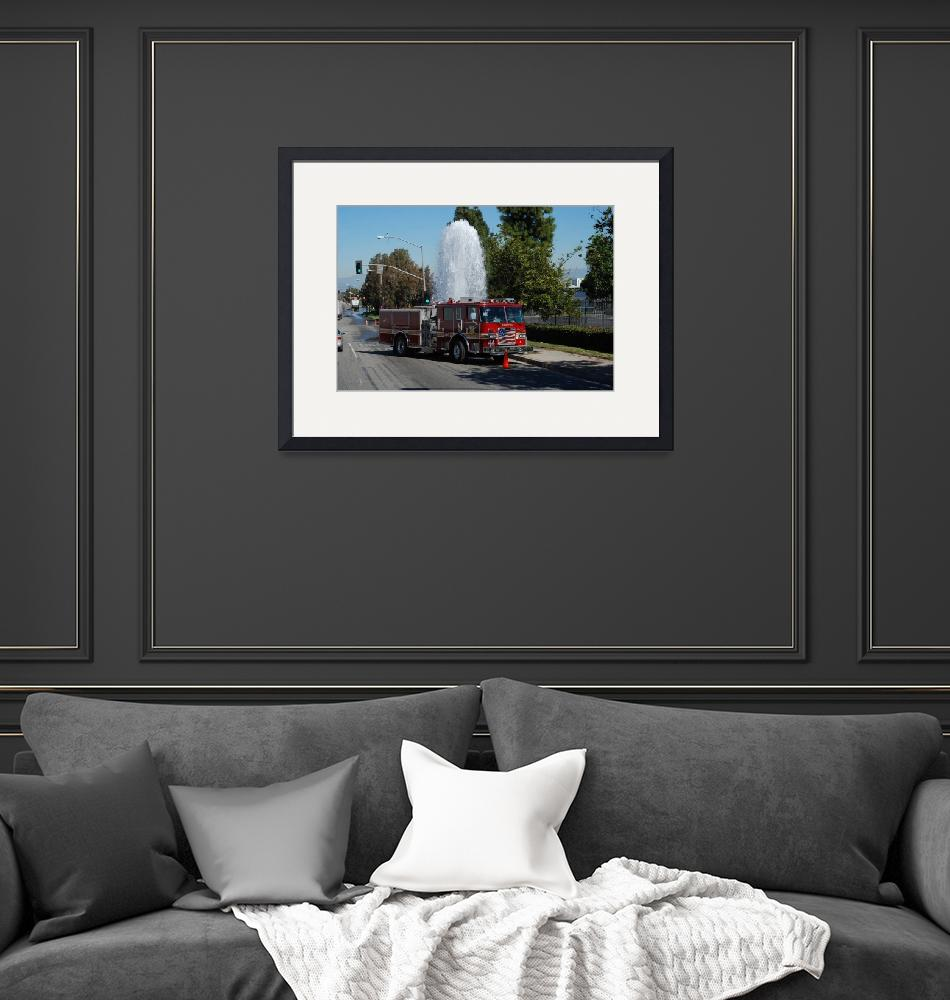 """""""Compton Fire Truck""""  by eyeinidas"""