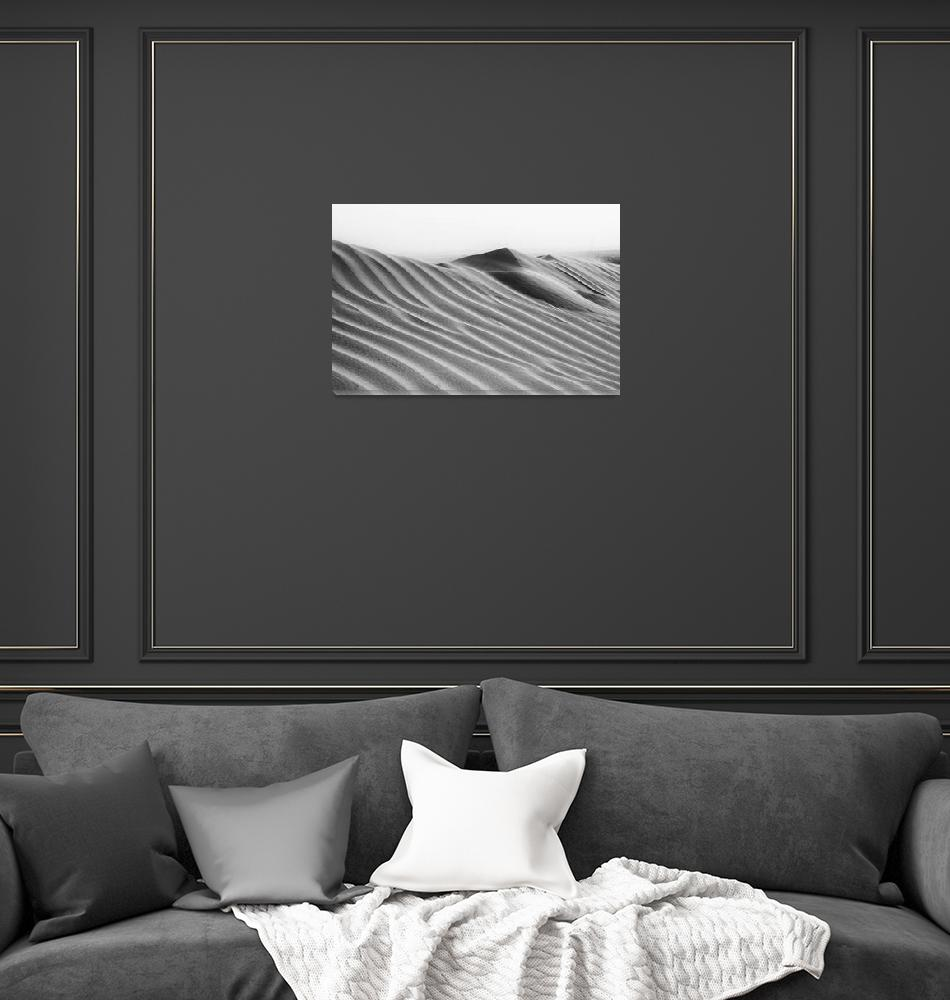 """""""Morning Dunes""""  (2012) by motleymenagerie"""