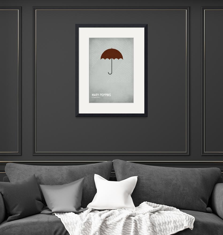 """""""Mary Poppins"""" (2010) by squareinchdesign"""