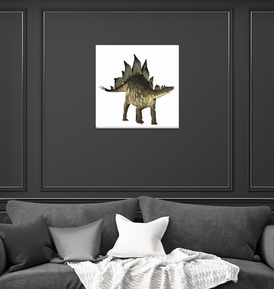 """""""Stegosaurus dinosaur""""  by stocktrekimages"""