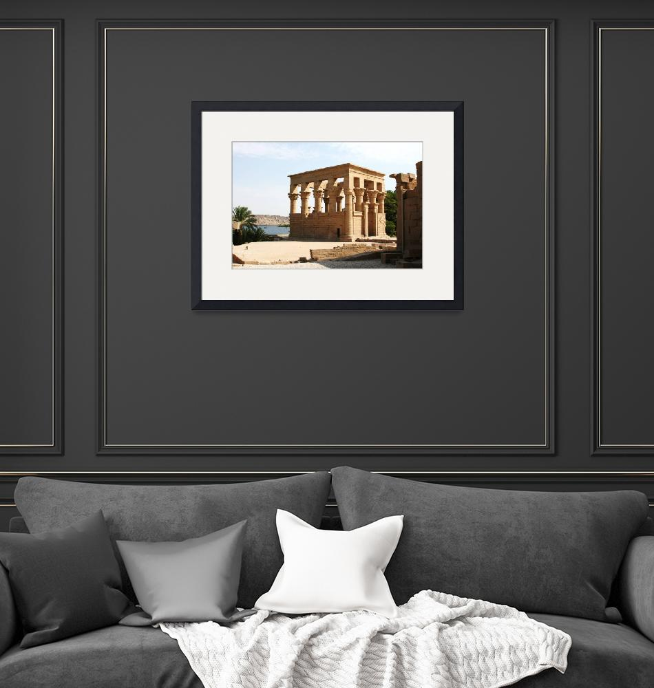 """""""Temple of Philae, Egypt""""  (2008) by CarrieWaters"""