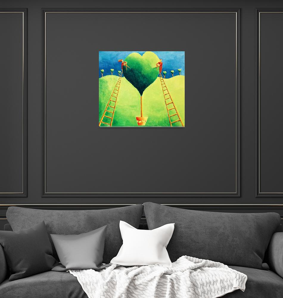 """""""Love in the Garden""""  by julienicholls"""
