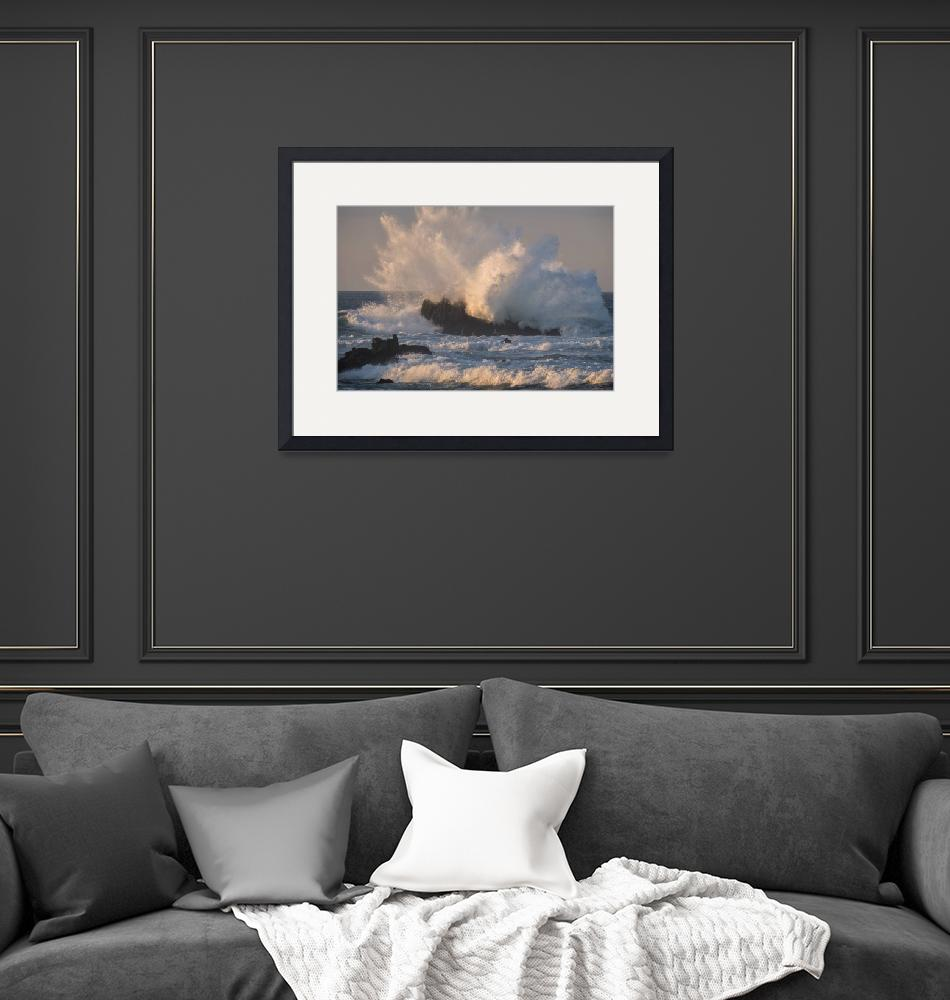 """Storm Wave Two, Pacific Grove""  (2019) by SederquistPhotography"