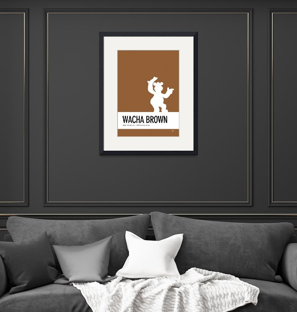 """""""No28 My Minimal Color Code poster Fozzy""""  by Chungkong"""