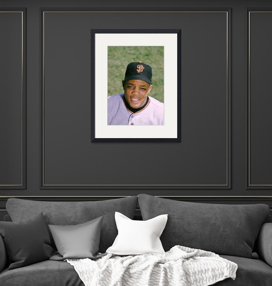 """The Great Willie Mays""  by RetroImagesArchive"