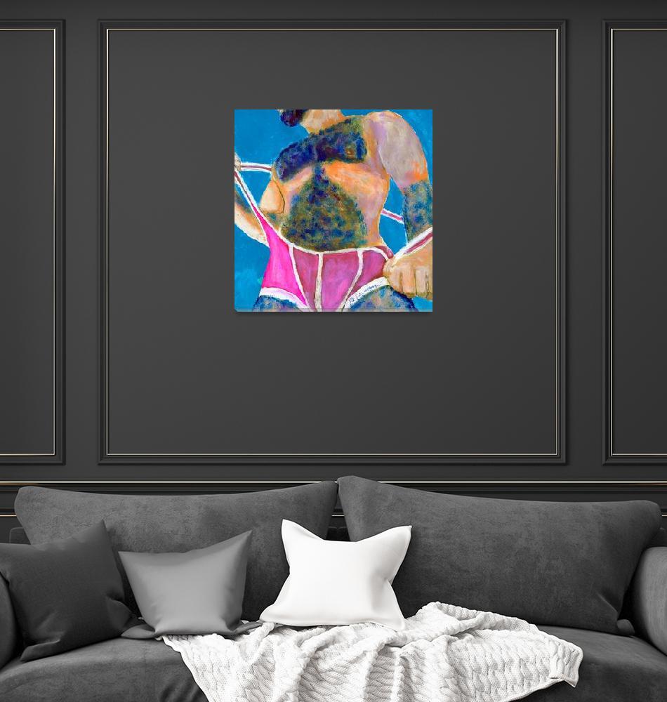 """Bear Weekend Tea Dance At The Boat-slip Bar""  (2020) by RDRiccoboni"