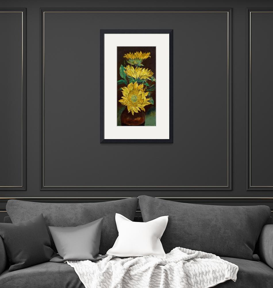 """""""Sunflowers""""  by creese"""