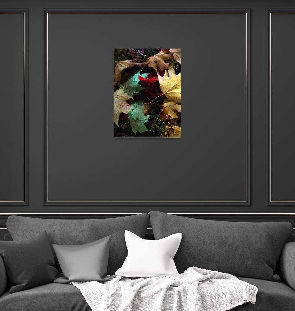 """Autumn Carpet""  (2015) by RCdeWinter"