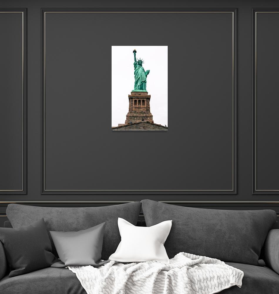 """""""Statue of Liberty""""  (2017) by Keiki"""