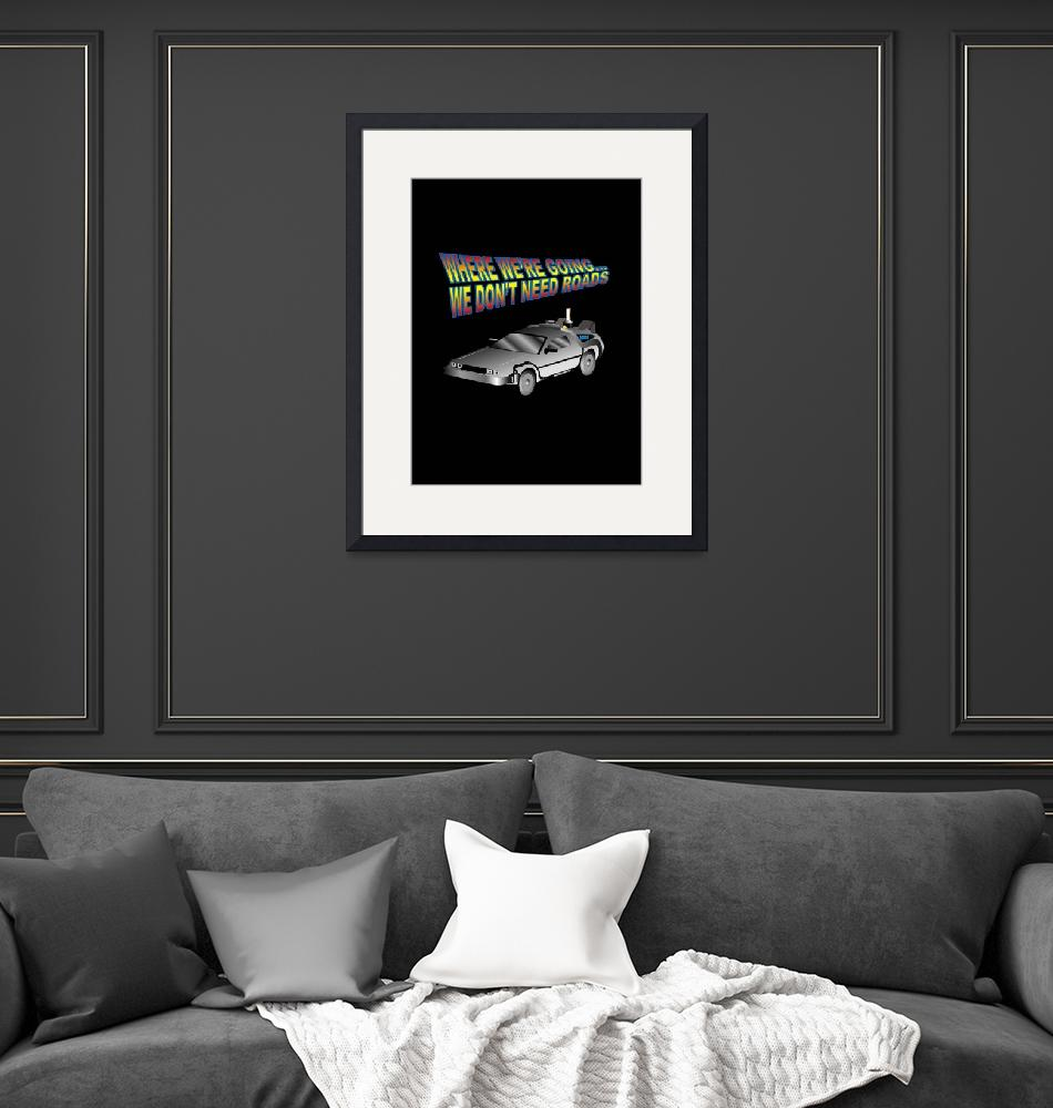 """""""Delorean"""" by ssgraphics"""