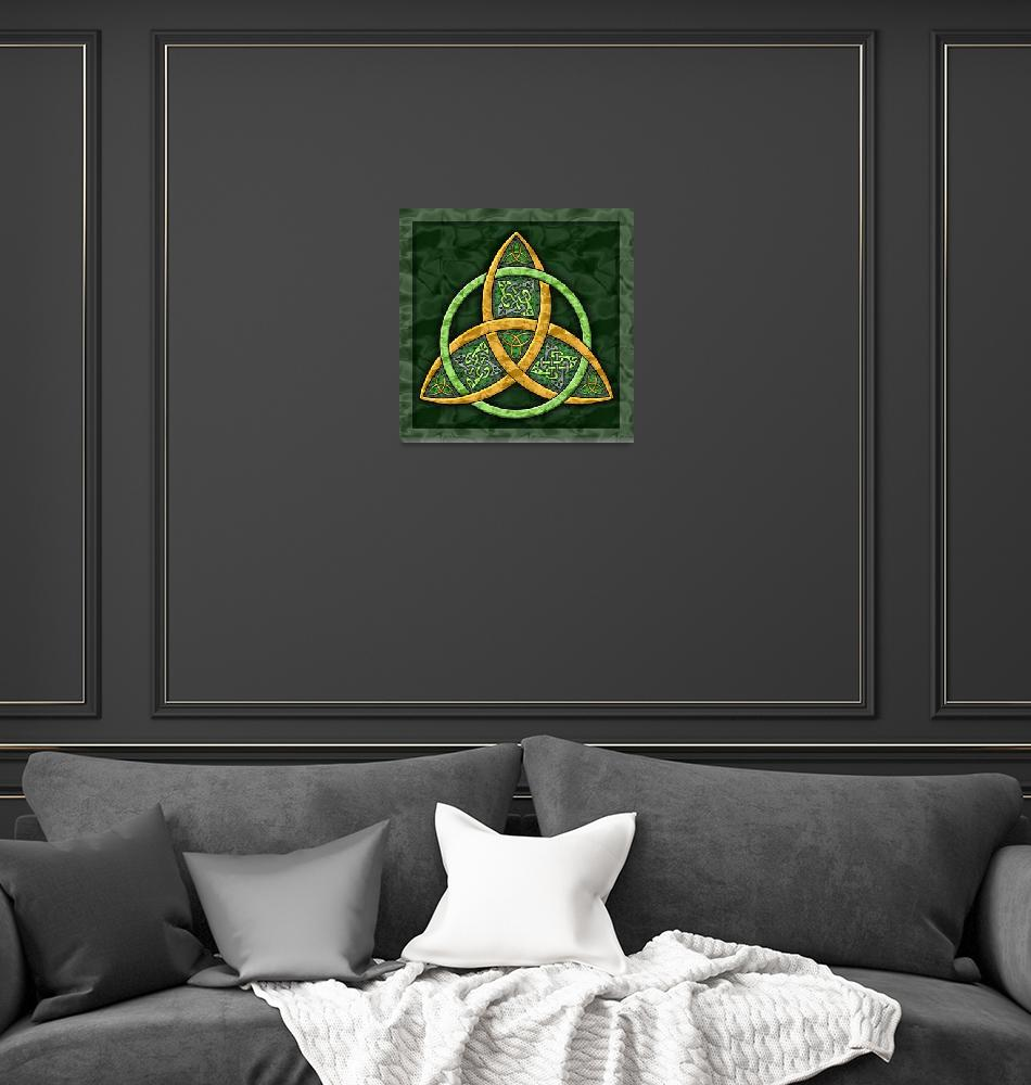"""Celtic Trinity Knot""  (2007) by foxvox"