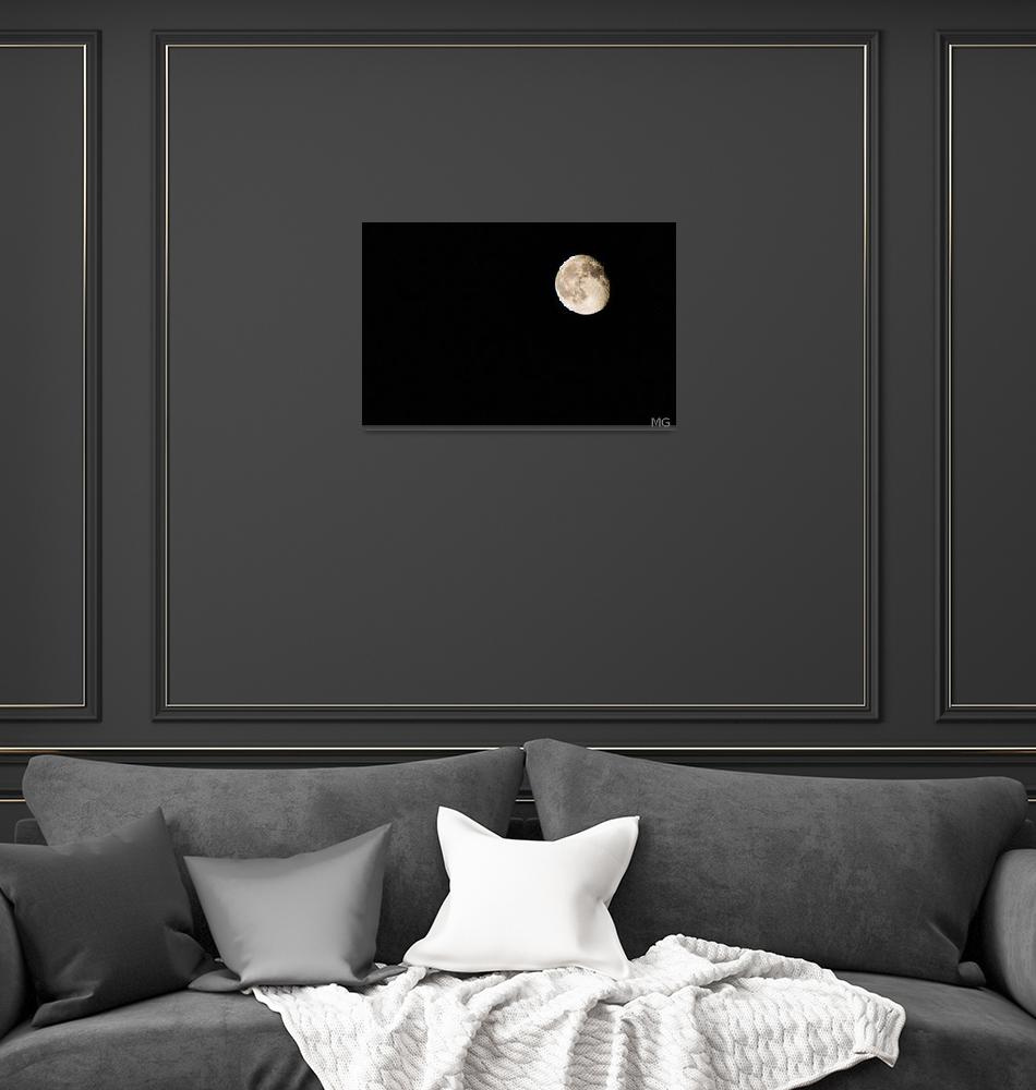 """""""The moon""""  (2013) by iPilot1000"""