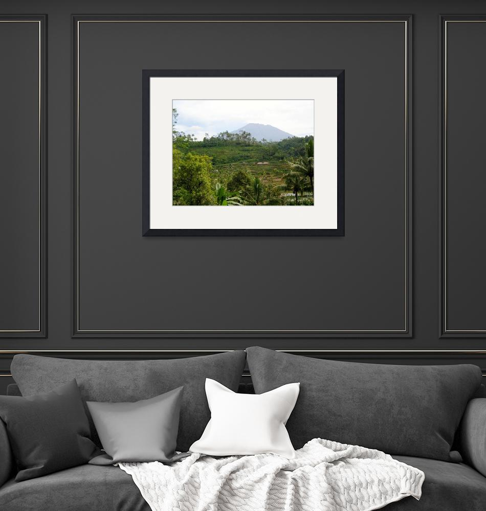 """""""Mount Agung Bali""""  (2007) by eviirons"""