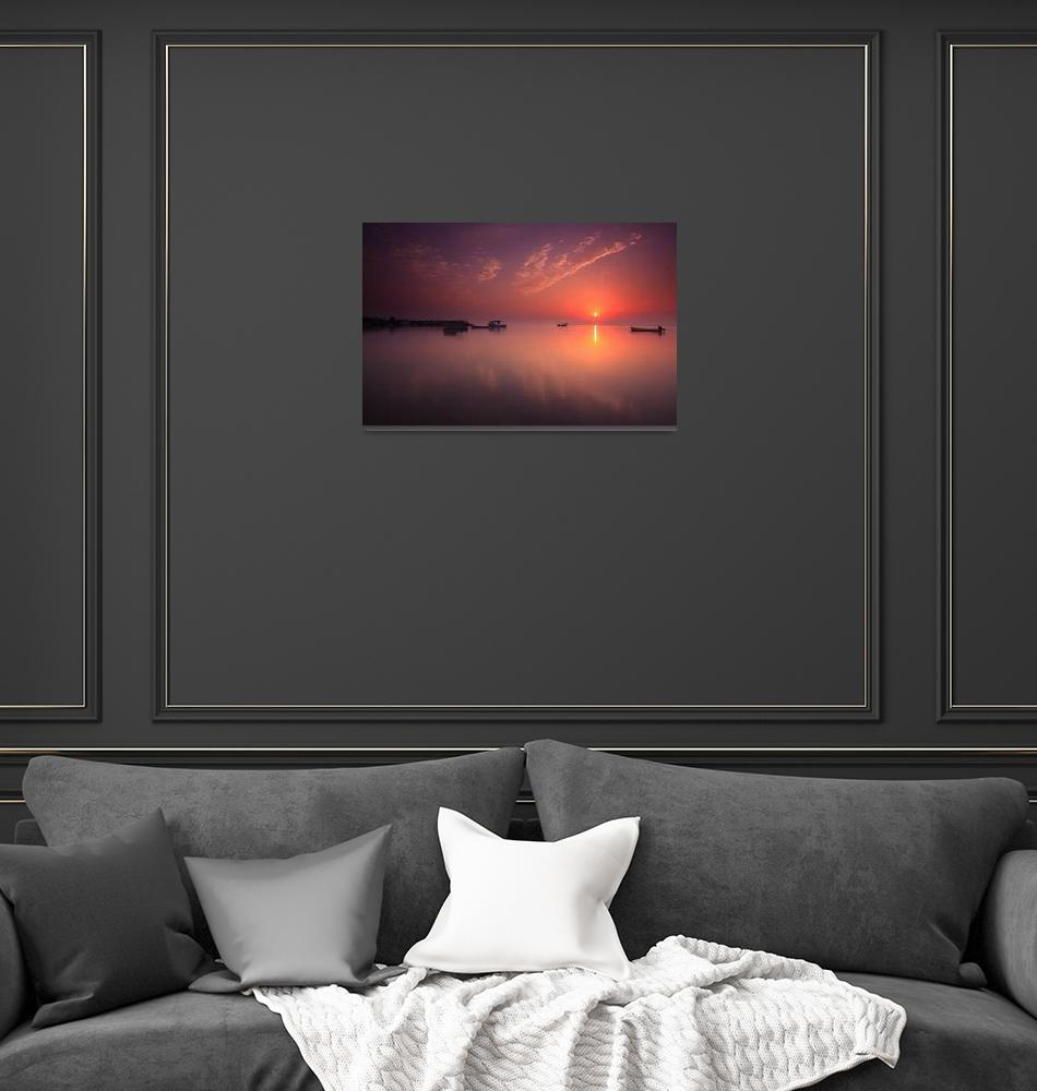 """Morning View  at Hidd, Bahrain""  (2009) by Helminadia"