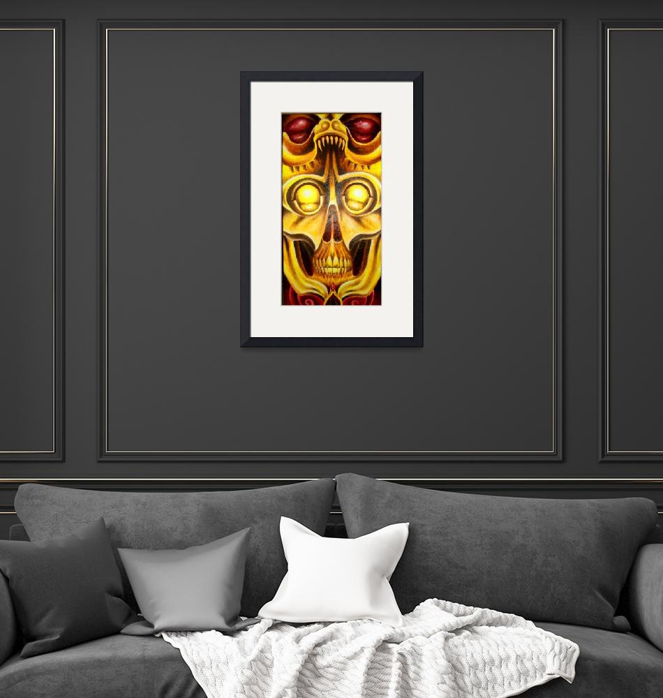 """""""The Golden Skull BIg""""  (2008) by Siege"""