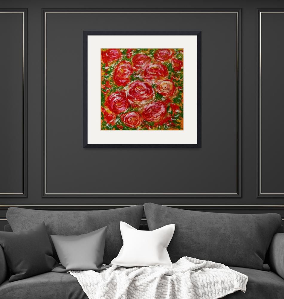 """""""Holiday Roses""""  (2015) by Karbstein"""