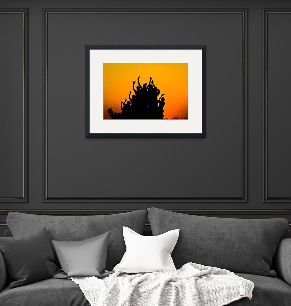 """""""African Silhouette 2""""  by forgiven"""
