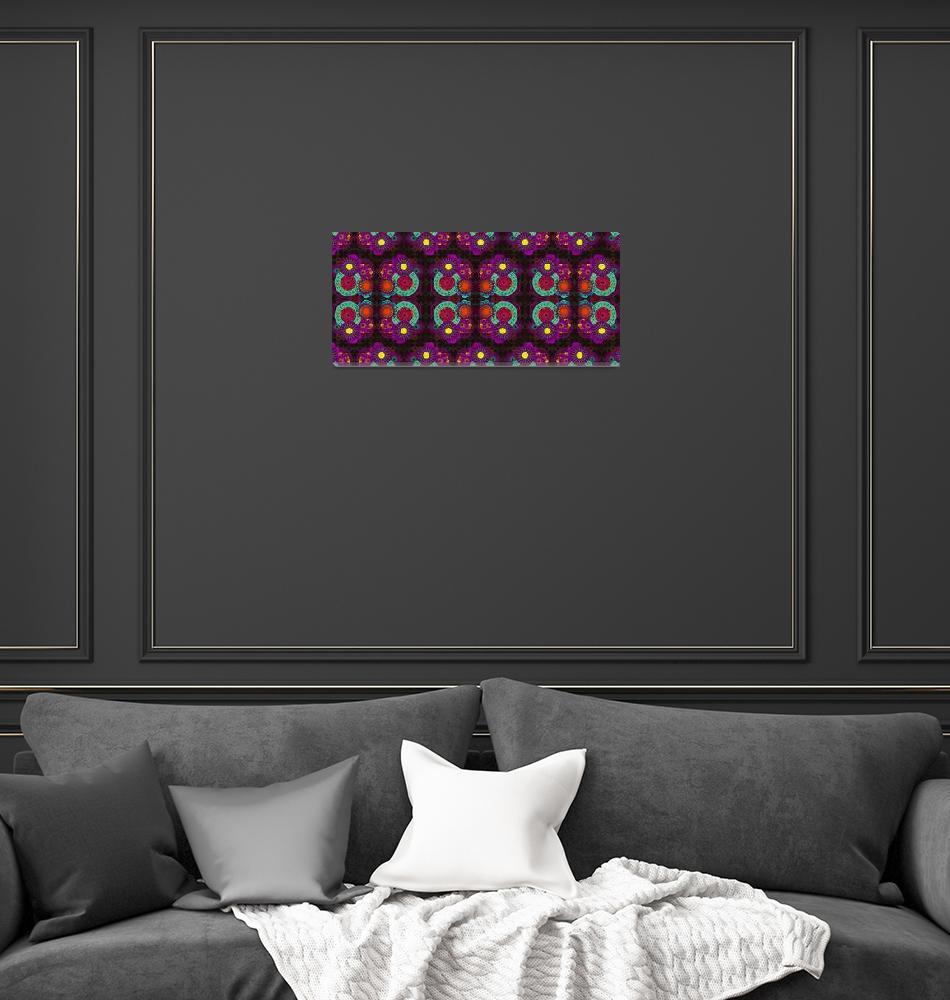 """Lotus Coffee Pattern""  (2012) by MaryDolan"