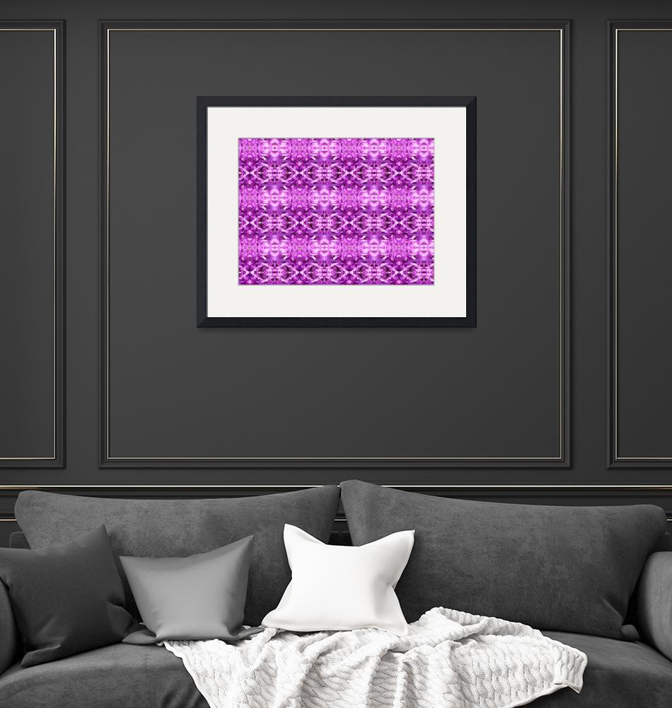 """Lavender Abstract""  (2008) by biglnet"