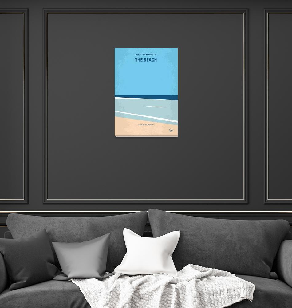 """No569 My The Beach minimal movie poster""  by Chungkong"