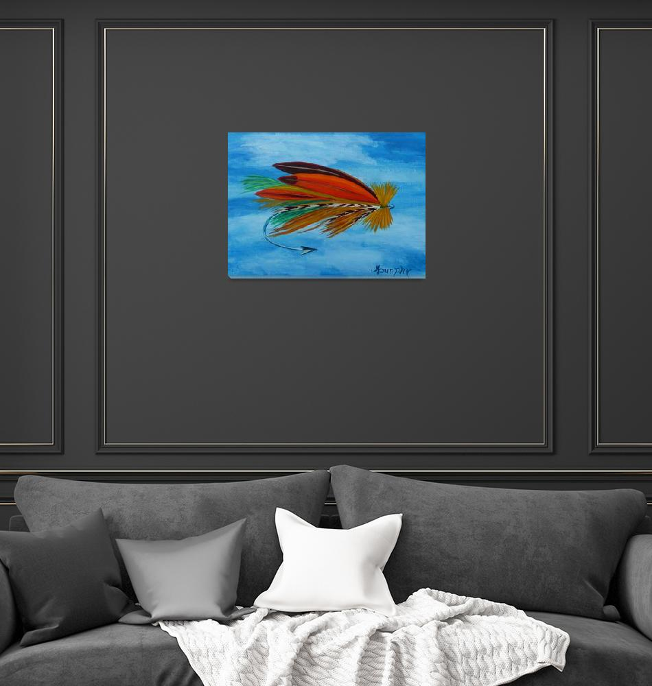 """""""dry fly""""  (2014) by anthonydunphy"""