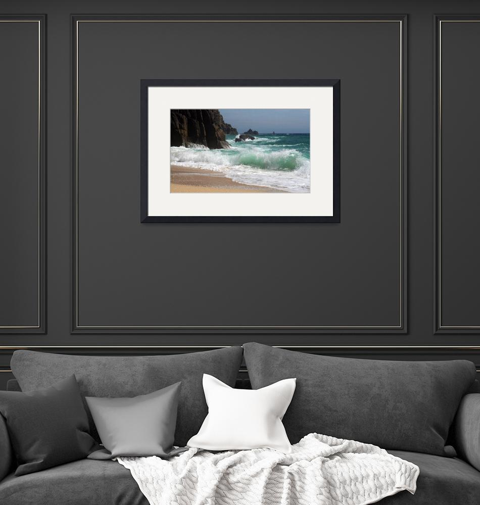 """""""Pednvounder Waves, Penwith, Cornwall""""  by FuturePresent"""