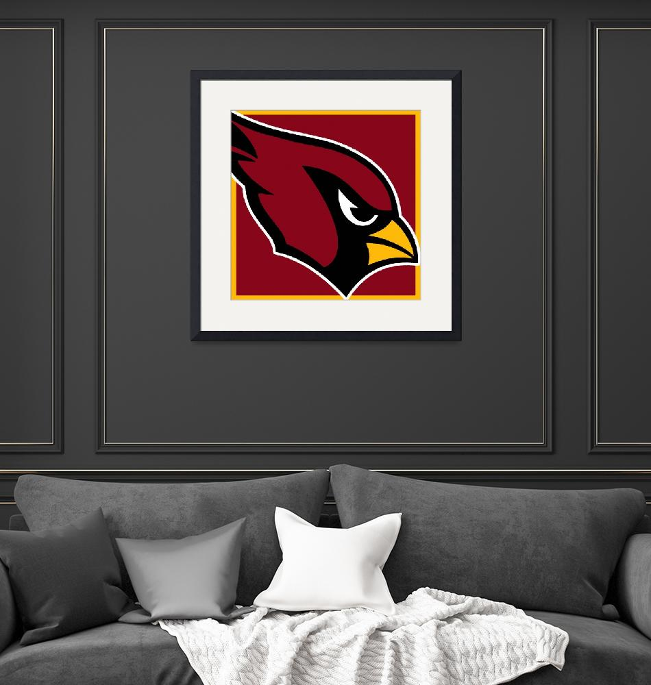 """Arizona Cardinals""  by RubinoFineArt"