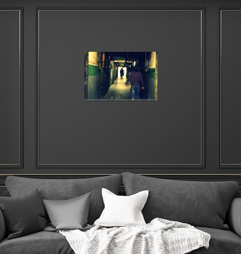 """""""The Hallway of the Past""""  (2009) by pixelzero"""