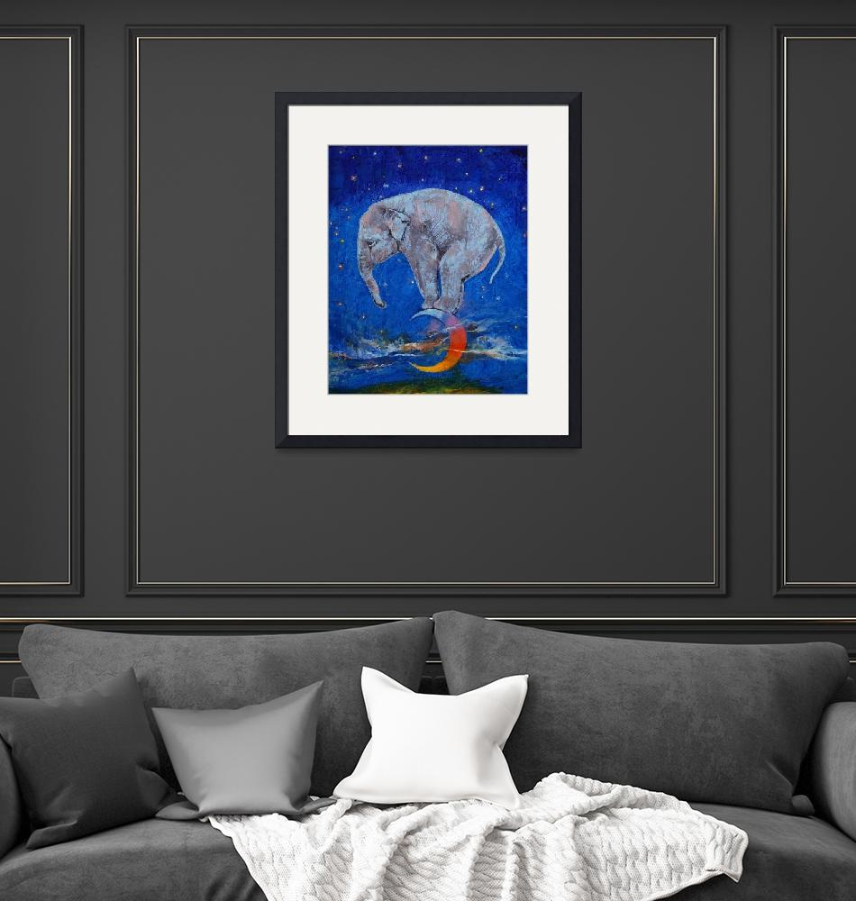 """""""Baby Elephant Moon""""  by creese"""