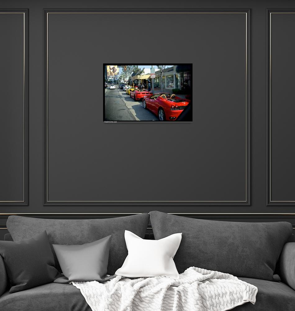 """""""Beverly Hills Supercars""""  (2010) by naikmichel"""