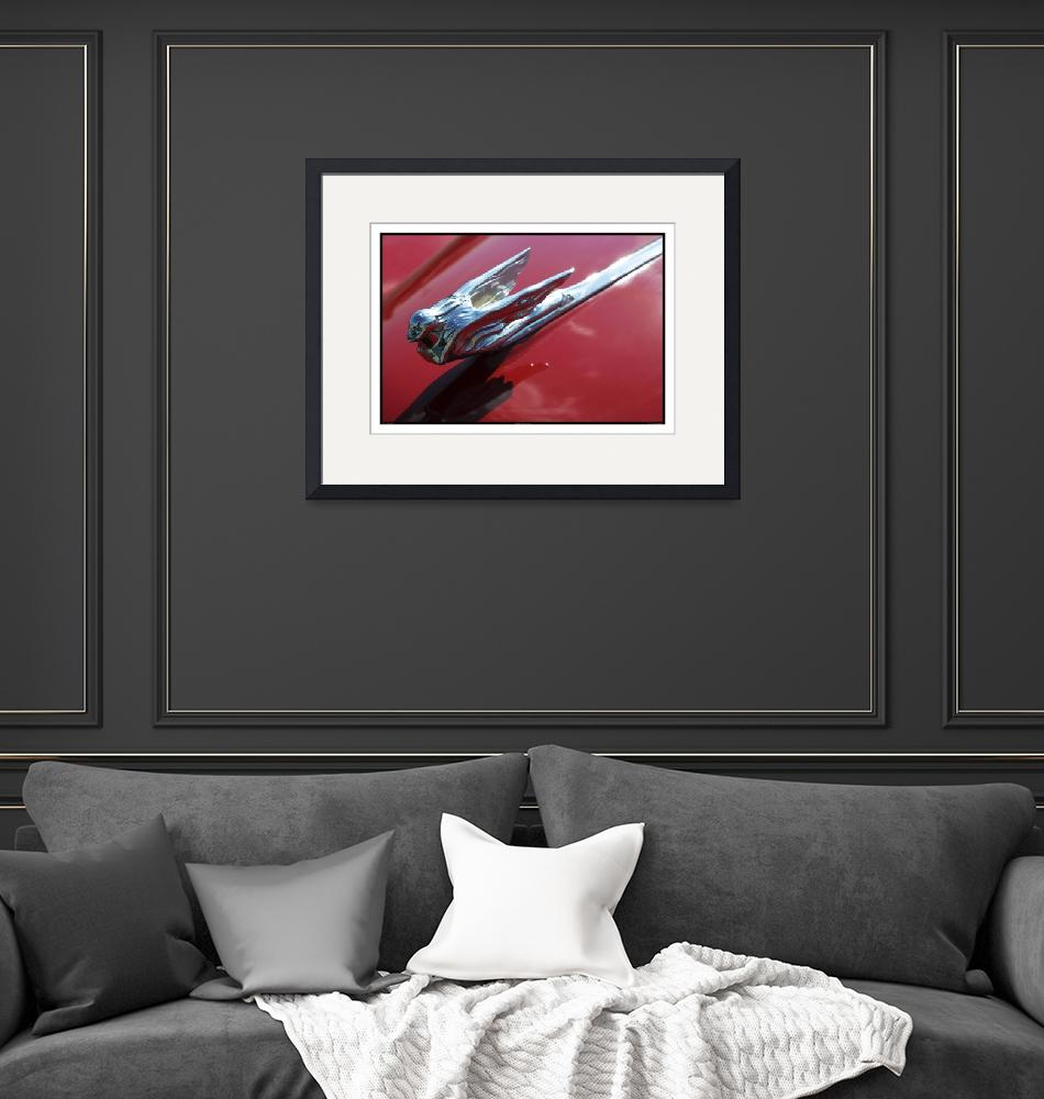 """""""Classic Car Red 07.14.07_821""""  (2007) by paulhasara"""