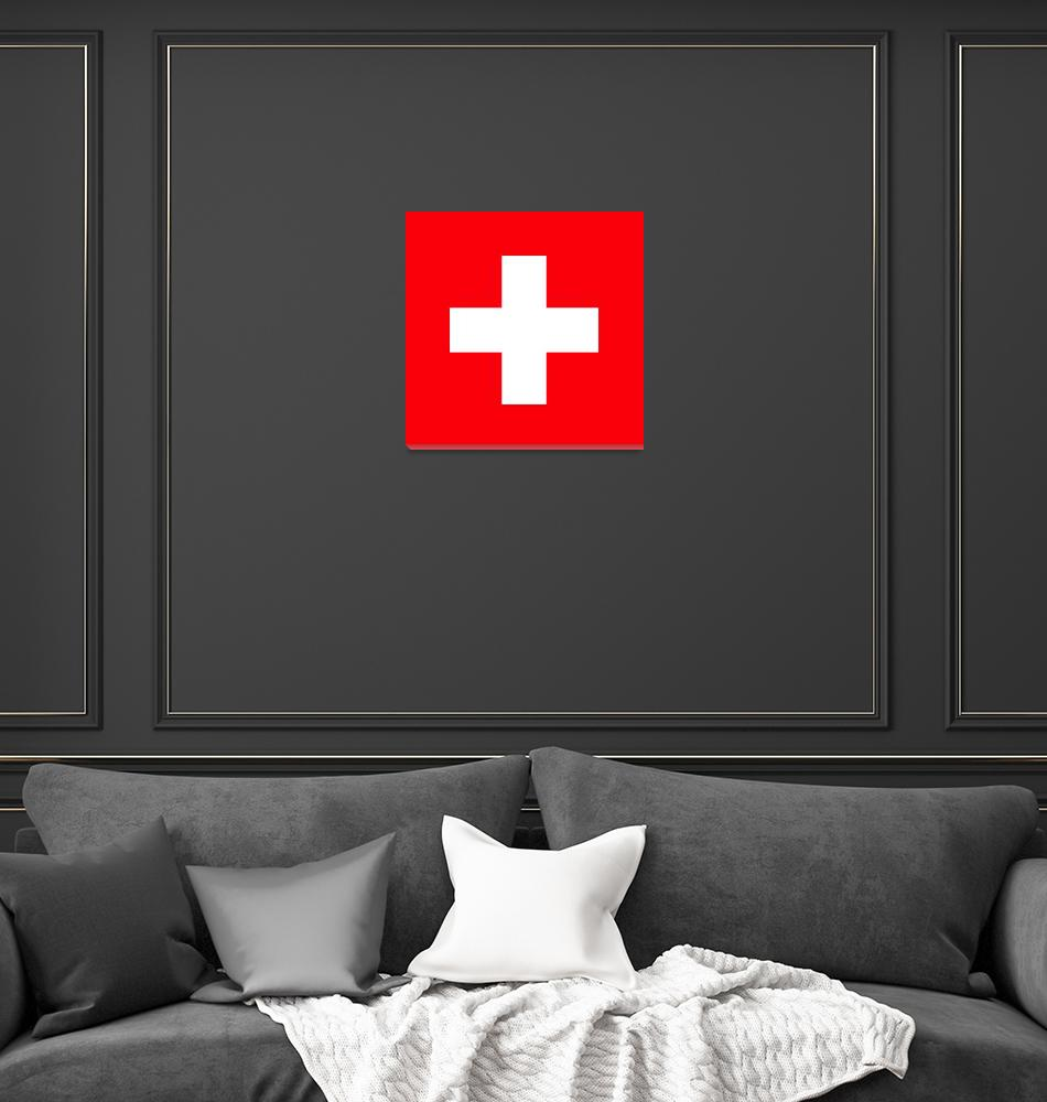 """Flag of Switzerland""  by ArgosDesigns"