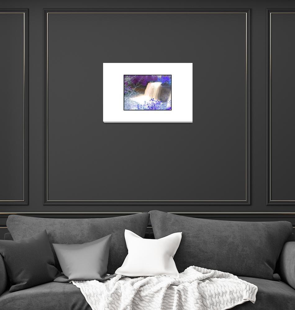 """Bridal Veil Infrared no.2""  (2008) by WildefyrePhotography"