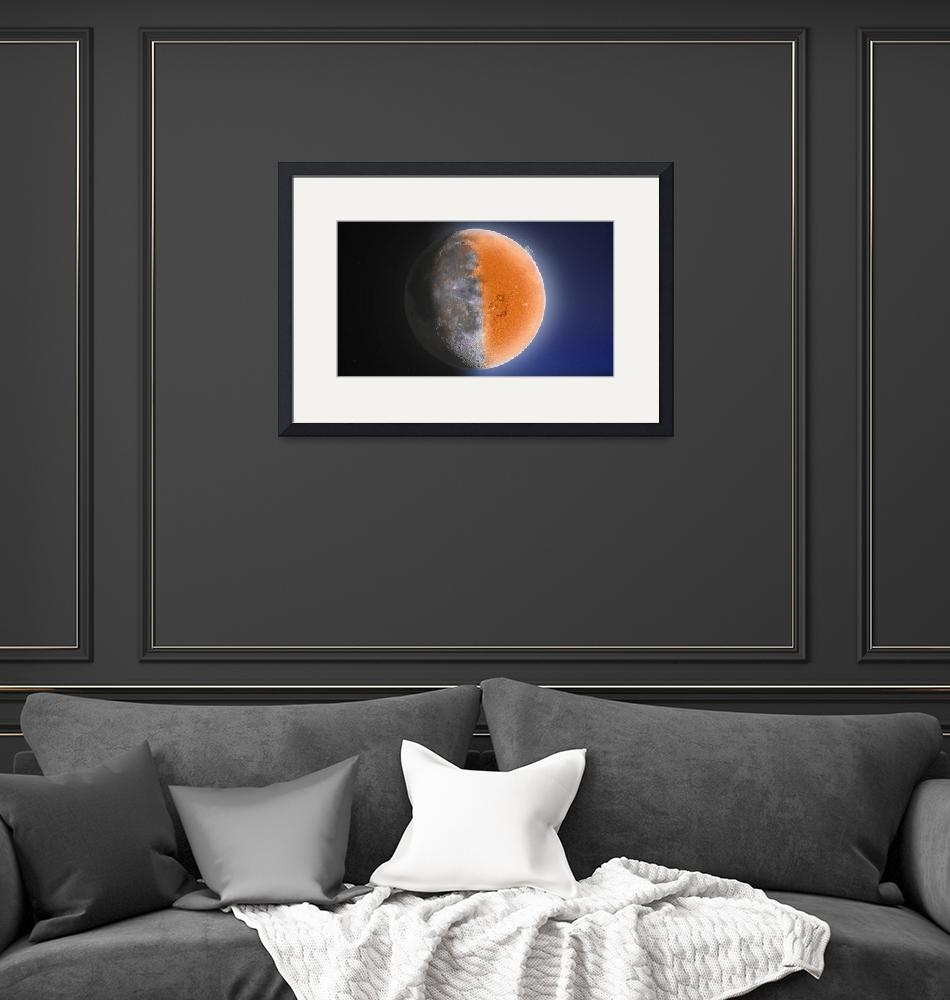 """""""The Sun and the Moon""""  by cosmic_background"""