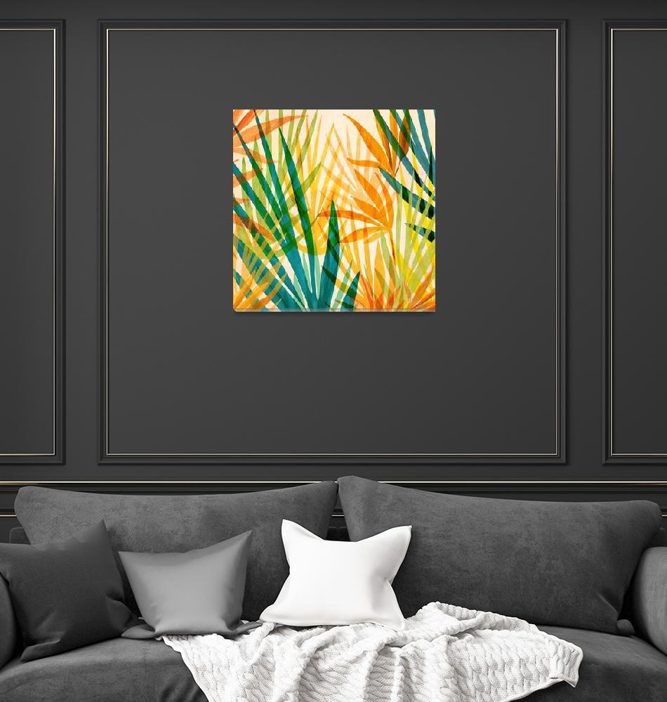 """Golden Tropics""  (2019) by moderntropical"