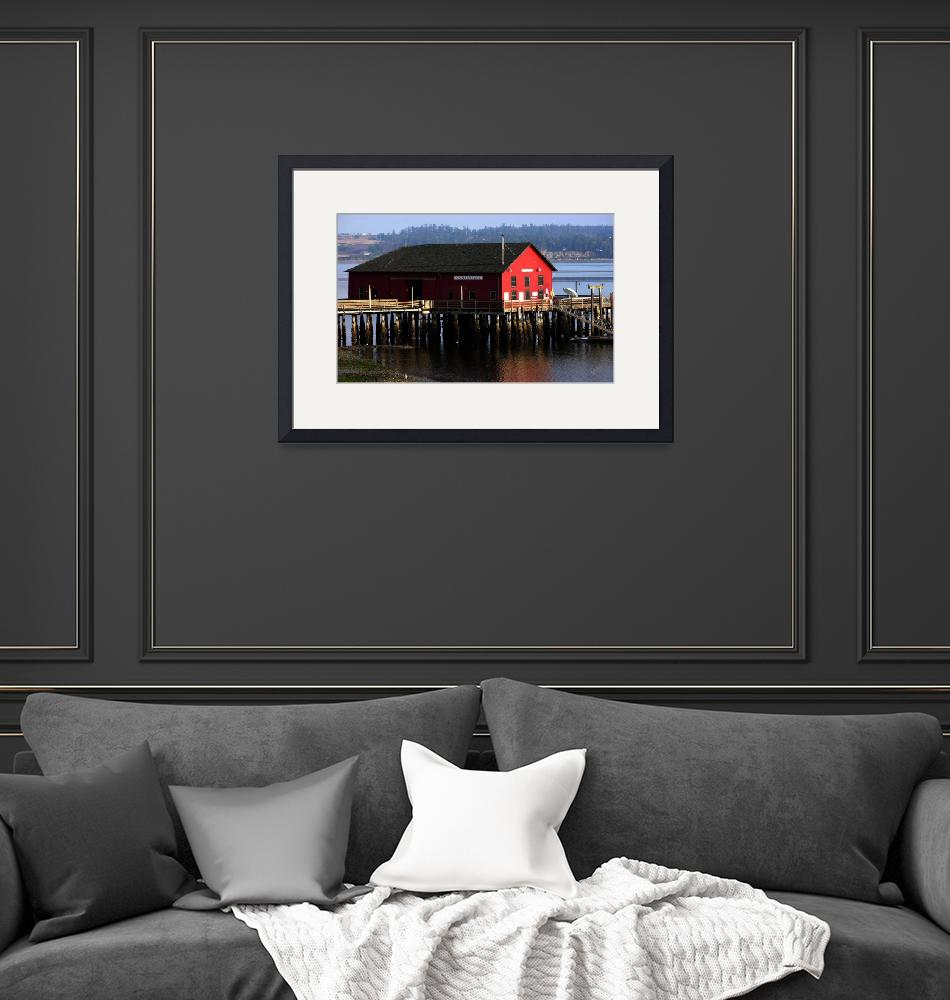 """""""Coupeville Wharf in the Morning""""  by gopnw"""