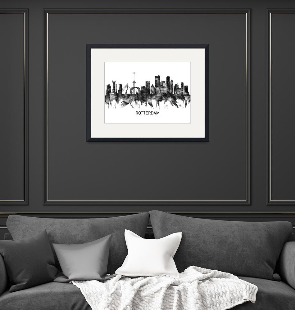 """""""Rotterdam Skyline""""  by Towseef"""