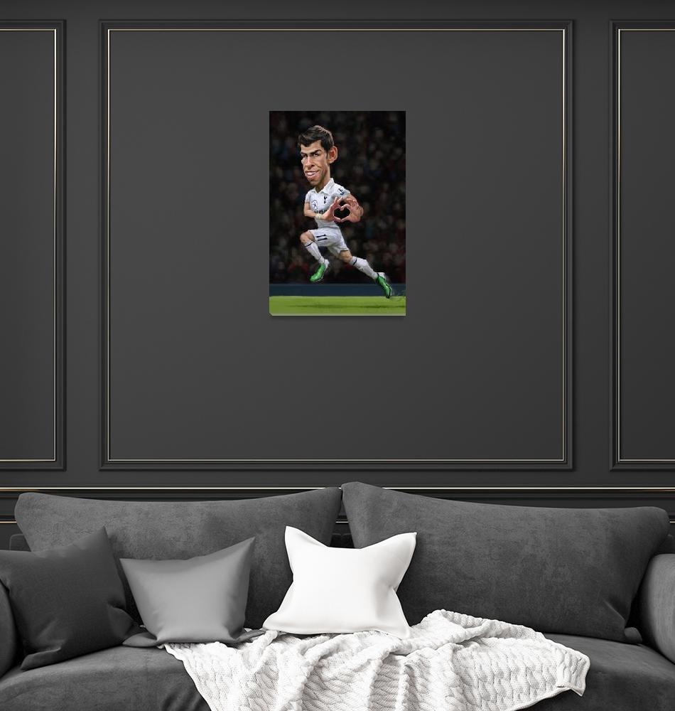 """Gareth Bale"" (2013) by blakeloosli"